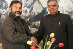 Uttrakhand Visit IFSMN state president Chandrasekhar joshi